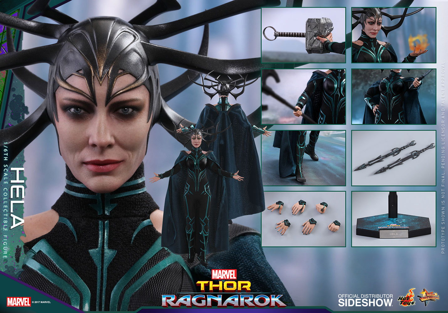 [Pre-Order] Thor: Ragnarok - Hela Movie Masterpiece - Click Image to Close
